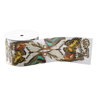 Französisches Kunst Nouveau Ripsband