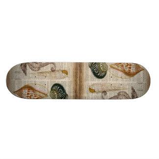 französisches Land des Wörterbuchdruckes Vintager 20,1 Cm Skateboard Deck
