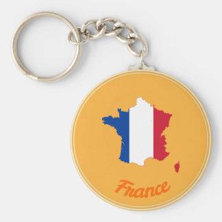Französisches Land Schlüsselanhänger