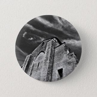 Französisches Mittelalter küsst den Dunkel Himmel Runder Button 5,1 Cm