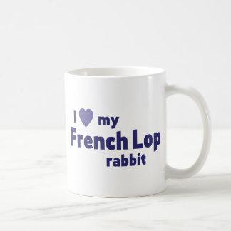 Französisches Schmierölniederdruck-Kaninchen Kaffeetasse