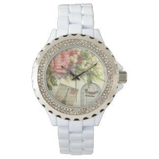 Französisches Thema-Vintage Paris-Uhr Armbanduhr