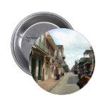 Französisches Viertel New Orleans Buttons
