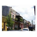 Französisches Viertel-Straßen-Ansicht New Orleans Postkarte