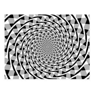 Fraser gewundene Illusion Postkarte