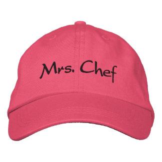 Frau Chef Bestickte Baseballcaps