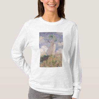Frau Claudes Monet | mit dem Sonnenschirm gedreht T-Shirt