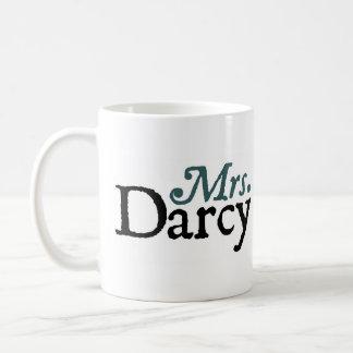 Frau Darcy Mug Jane-Austen Kaffeetasse