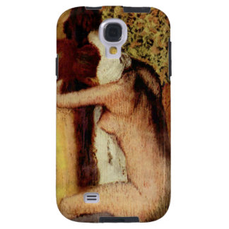 Frau, die ihren Hals durch Edgar Degas trocknet Galaxy S4 Hülle