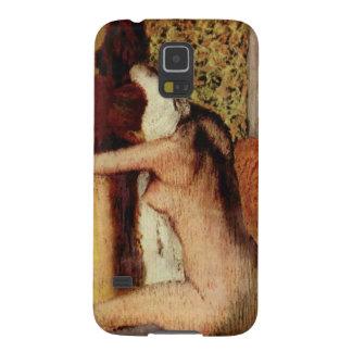 Frau, die ihren Hals durch Edgar Degas trocknet Samsung S5 Hülle
