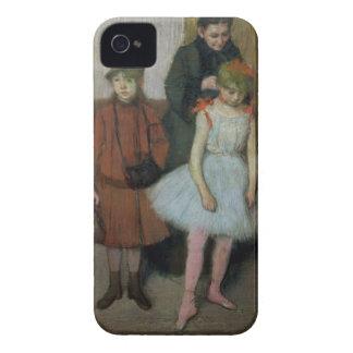 Frau Edgar Degass | mit zwei kleinen Mädchen iPhone 4 Hülle
