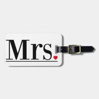 Frau Gepäckanhänger