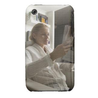 Frau im Frisörsalon iPhone 3 Case-Mate Hüllen