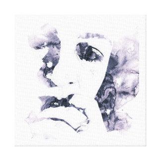 Frau in Tränen Leinwanddruck
