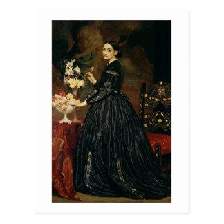 Frau James Guthrie, c.1864-5 (Öl auf Leinwand) Postkarte