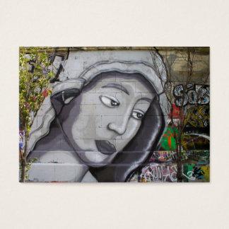 Frau mit grauer Haube Jumbo-Visitenkarten