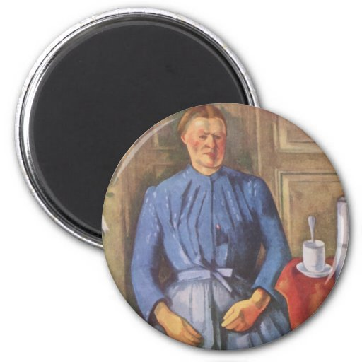 Frau-MIT Kaffeekanne Magnete