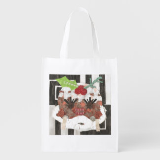 Frau Pudding Reusable Bag Wiederverwendbare Einkaufstasche