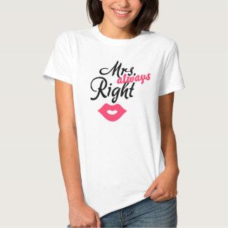 Frau Right Tshirt