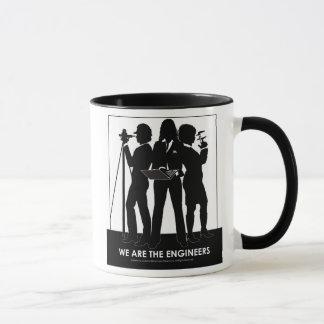 (Frau) sind wir die Ingenieur-Tasse Tasse