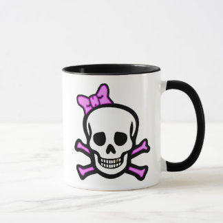 Frau Skull u. Knochen-Tasse Tasse