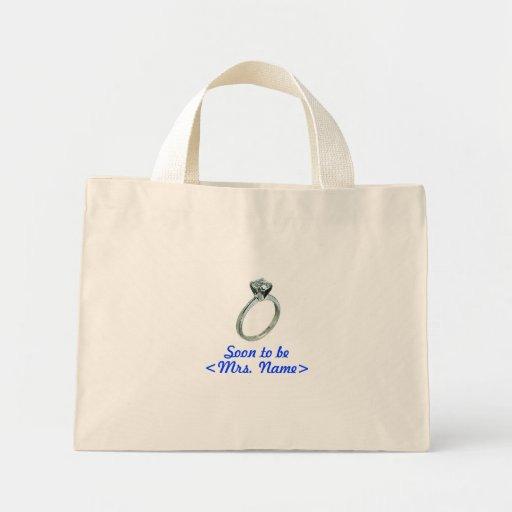 Frau Tote Bags bald sein Leinentasche