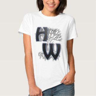 """Frau """"weil Familien-Wiedervereinigungen nicht sind T-Shirts"""