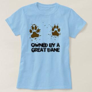 Frauen besessen von einer Deutschen Dogge T-Shirt