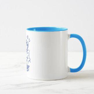 Frauen bevollmächtigten Schale Tasse