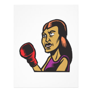 Frauen boxen auch flyers