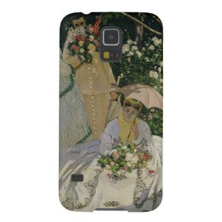 Frauen Claude Monets | im Garten Samsung Galaxy S5 Cover