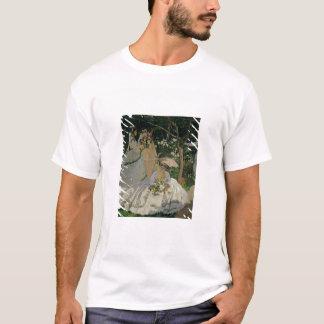 Frauen Claude Monets | im Garten T-Shirt