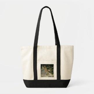 Frauen Claude Monets | im Garten Tragetasche