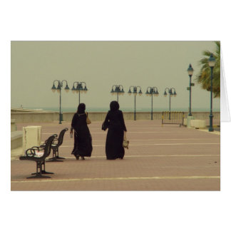 Frauen, die in Kuwait kaufen Karte
