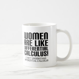 Frauen-Differentialrechnungs-lustige Tasse