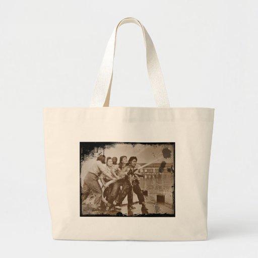 Frauen-Feuerwehrmann-Pearl Harbor am 7. Dezember Tasche