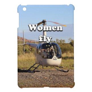 Frauen fliegen: Hubschrauber (weiße) 2 iPad Mini Hülle