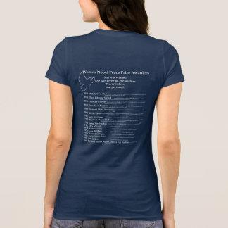 Frauen-Friedensnobelpreis, Nevetheless bestand sie T-Shirt