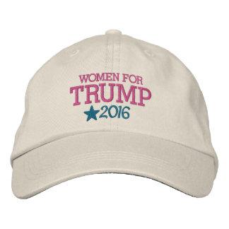 Frauen für Donald Trump - Präsident 2016 Bestickte Baseballkappe