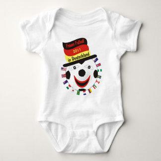 Frauen Fussball 2011 Germany Baby Strampler