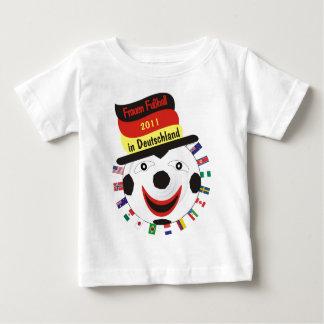 Frauen Fussball 2011 Germany Baby T-shirt
