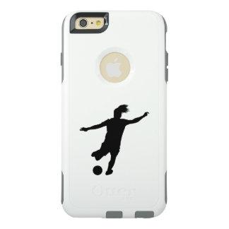 Frauen-Fußball-Spieler OtterBox iPhone 6/6s Plus Hülle