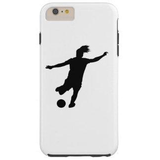 Frauen-Fußball-Spieler Tough iPhone 6 Plus Hülle