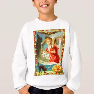 Frauen-Halloween-Nacht Sweatshirt