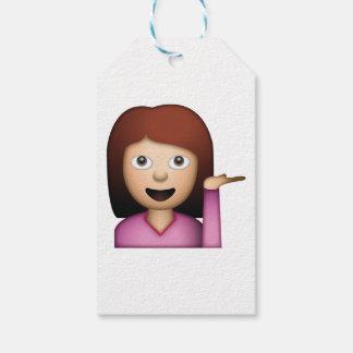 Frauen-Handzeichen - Emoji Geschenkanhänger