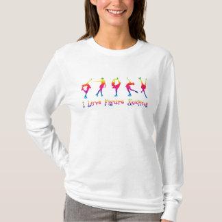 Frauen - i-Liebezahl Skaten, helle Farben T-Shirt