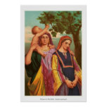Frauen in der Bibel - Rachel und Leah Plakate