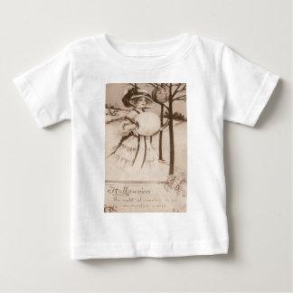 Frauen-Jack O Laternen-Kürbis-Halbmond-Mond Baby T-shirt