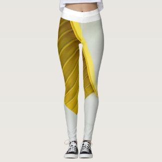 Frauen, Leggings&Yellow Leiter Leggings
