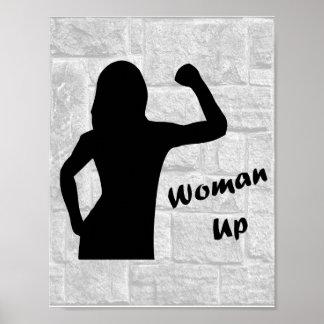 Frauen-oben - Fitness-Plakate für Frauen Poster